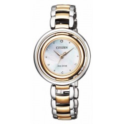 Orologio Citizen Donna L Eco-Drive EM0666-89D Diamante Madreperla