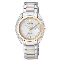 Orologio Citizen Donna Lady Eco-Drive EW2254-58A Diamanti