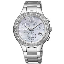 Orologio Citizen Donna Crono Lady Eco-Drive FB1321-56A Madreperla