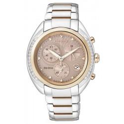 Acquistare Orologio Citizen Donna Crono Lady Eco-Drive FB1385-53W Diamanti