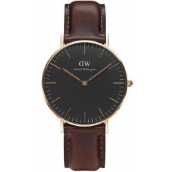 Acquistare Orologio Unisex Daniel Wellington Classic Black Bristol 36MM DW00100137