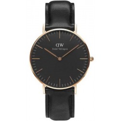 Orologio Unisex Daniel Wellington Classic Black Sheffield 36MM DW00100139