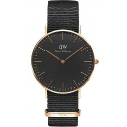 Acquistare Orologio Unisex Daniel Wellington Classic Black Cornwall 36MM DW00100150