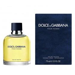 Profumo Uomo Dolce & Gabbana Pour Homme Eau de Toilette EDT 75 ml