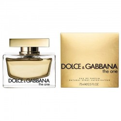 Profumo Donna Dolce & Gabbana The One Eau de Parfum EDP Vapo 75 ml