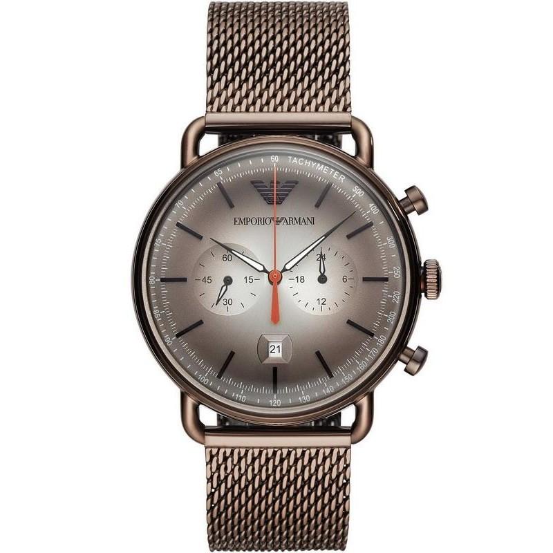 Orologio Uomo Emporio Armani Aviator AR11169 Cronografo
