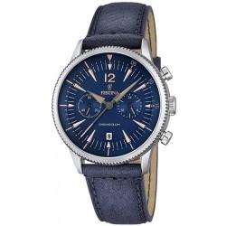 Orologio Uomo Festina Retro F16870/2 Cronografo Quartz