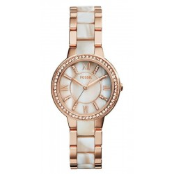 Orologio Fossil Donna Virginia ES3716 Madreperla Quartz