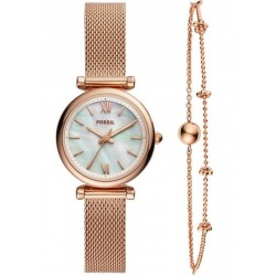 Orologio Fossil Donna Carlie Mini ES4443SET Quartz