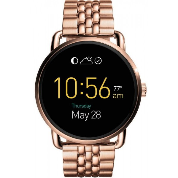 Acquistare Orologio Donna Fossil Q Wander Smartwatch FTW2112