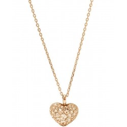 Collana Donna Fossil Vintage Motifs JF01156791 Cuore