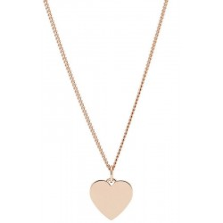 Collana Donna Fossil Vintage Iconic JF03021791 Cuore
