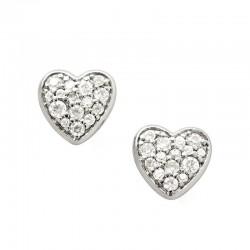 Acquistare Orecchini Donna Fossil Sterling Silver JFS00151040 Cuore
