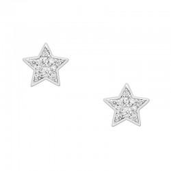 Acquistare Orecchini Donna Fossil Sterling Silver JFS00152040 Stella