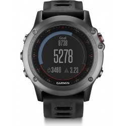 Orologio Uomo Garmin Fēnix 3 010-01338-01 GPS Smartwatch Multisport