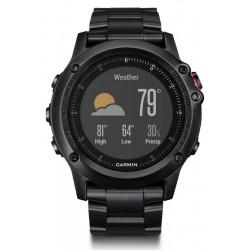 Orologio Uomo Garmin Fēnix 3 HR Sapphire 010-01338-7D GPS Smartwatch Multisport