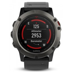 Orologio Uomo Garmin Fēnix 5X Sapphire 010-01733-01 GPS Smartwatch Multisport