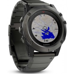 Orologio Uomo Garmin Fēnix 5X Sapphire 010-01733-03 GPS Smartwatch Multisport