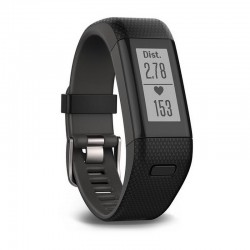 Garmin 010-01955-33 Vívosmart HR+ GPS Smartwatch Cardio Fitness Band Orologio Unisex Touch X-Large