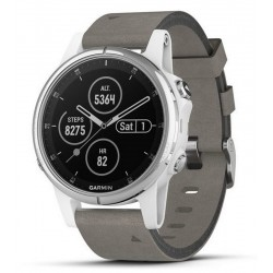 Acquistare Orologio Unisex Garmin Fēnix 5S Plus Sapphire 010-01987-05 GPS Smartwatch Multisport