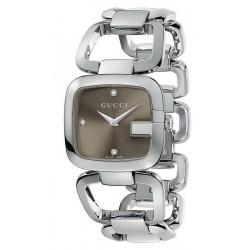 Acquistare Orologio Donna Gucci G-Gucci Medium YA125401 Diamanti Quartz