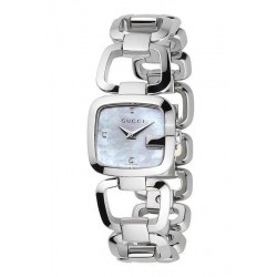 Acquistare Orologio Donna Gucci G-Gucci Small YA125502 Diamanti Madreperla