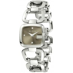 Acquistare Orologio Donna Gucci G-Gucci Small YA125503 Diamanti Quartz