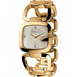 Acquistare Orologio Donna Gucci G-Gucci Small YA125513 Diamanti Madreperla