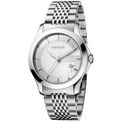 Acquistare Orologio Unisex Gucci G-Timeless Medium YA126401 Quartz