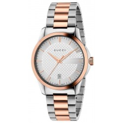 Acquistare Orologio Unisex Gucci G-Timeless Medium YA126473 Quartz