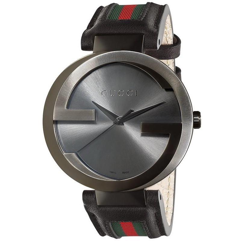 selezione migliore da0bb 7f04a Orologio Uomo Gucci Interlocking XL YA133206 Quartz