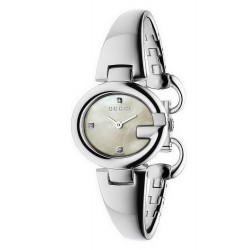 Orologio Donna Gucci Guccissima Small YA134504 Diamanti Madreperla