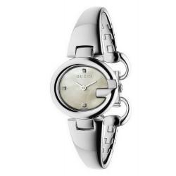 Orologio Donna Gucci Guccissima Small YA134504 Diamanti Madreperla