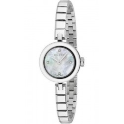 Acquistare Orologio Donna Gucci Diamantissima Small YA141503 Diamanti Madreperla
