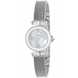 Acquistare Orologio Donna Gucci Diamantissima Small YA141512 Diamanti Madreperla