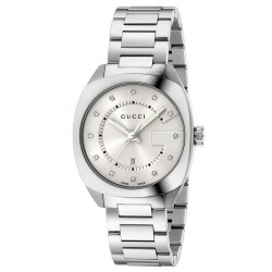 Orologio Donna Gucci GG2570 Medium YA142403 Diamanti Quartz