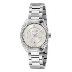Orologio Donna Gucci GG2570 Small YA142506 Diamanti Quartz