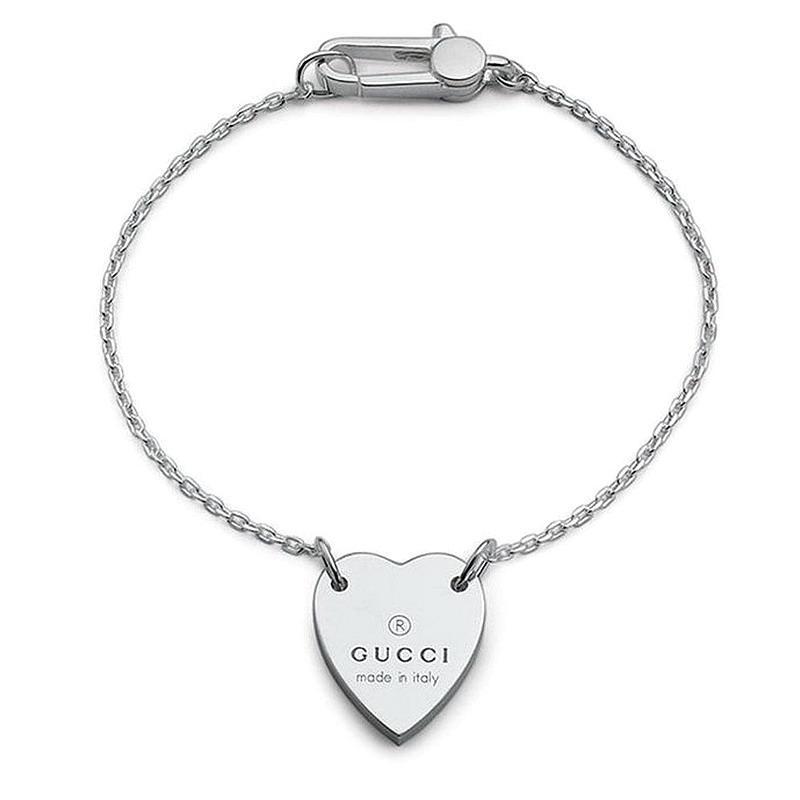 Bracciale Donna Gucci Trademark YBA223513001015 Cuore - Crivelli ... a9115a849736