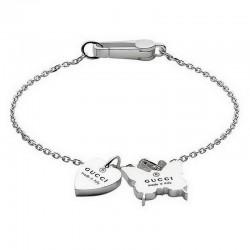 Bracciale Donna Gucci Trademark YBA223516001017 Cuore e Farfalla