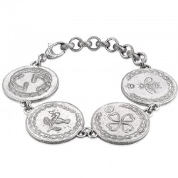 Bracciale Donna Gucci Coin YBA432179001018