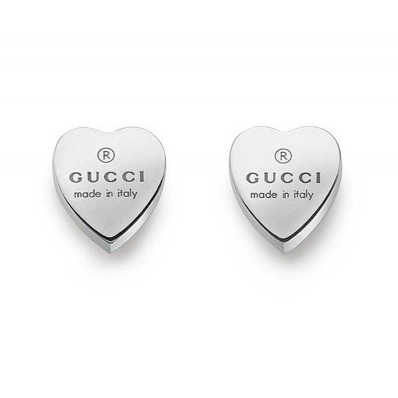 Orecchini Donna Gucci Trademark YBD22399000100U Cuore - Crivelli ... 1c5f83b49cea