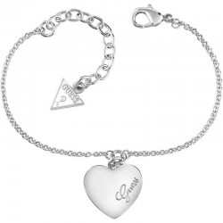 Acquistare Bracciale Donna Guess Heartbeat UBB61043-S Cuore