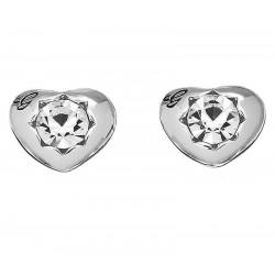 Acquistare Orecchini Donna Guess Crystals Of Love UBE51415 Cuore