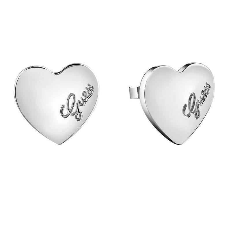 Orecchini Donna Guess Heartbeat UBE61053 Cuore