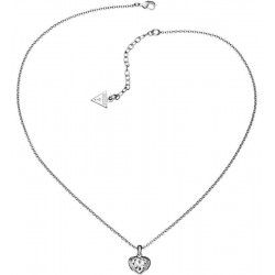 Acquistare Collana Donna Guess Crystals of Love UBN51419 Cuore