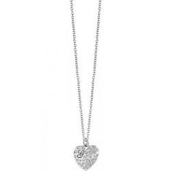 Acquistare Collana Donna Guess Glossy Hearts UBN51471 Cuore