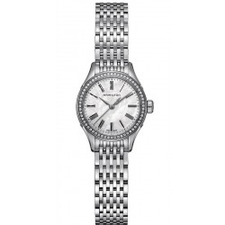 Acquistare Orologio Donna Hamilton Valiant Quartz H39211194 Diamanti Madreperla