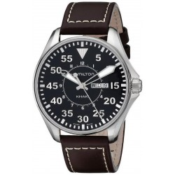 Orologio Uomo Hamilton Khaki Aviation Pilot Quartz H64611535