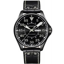 Orologio Uomo Hamilton Khaki Aviation Pilot Day Date Auto H64785835