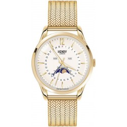 Orologio Unisex Henry London Westminster HL39-LM-0160 Moonphase Quartz